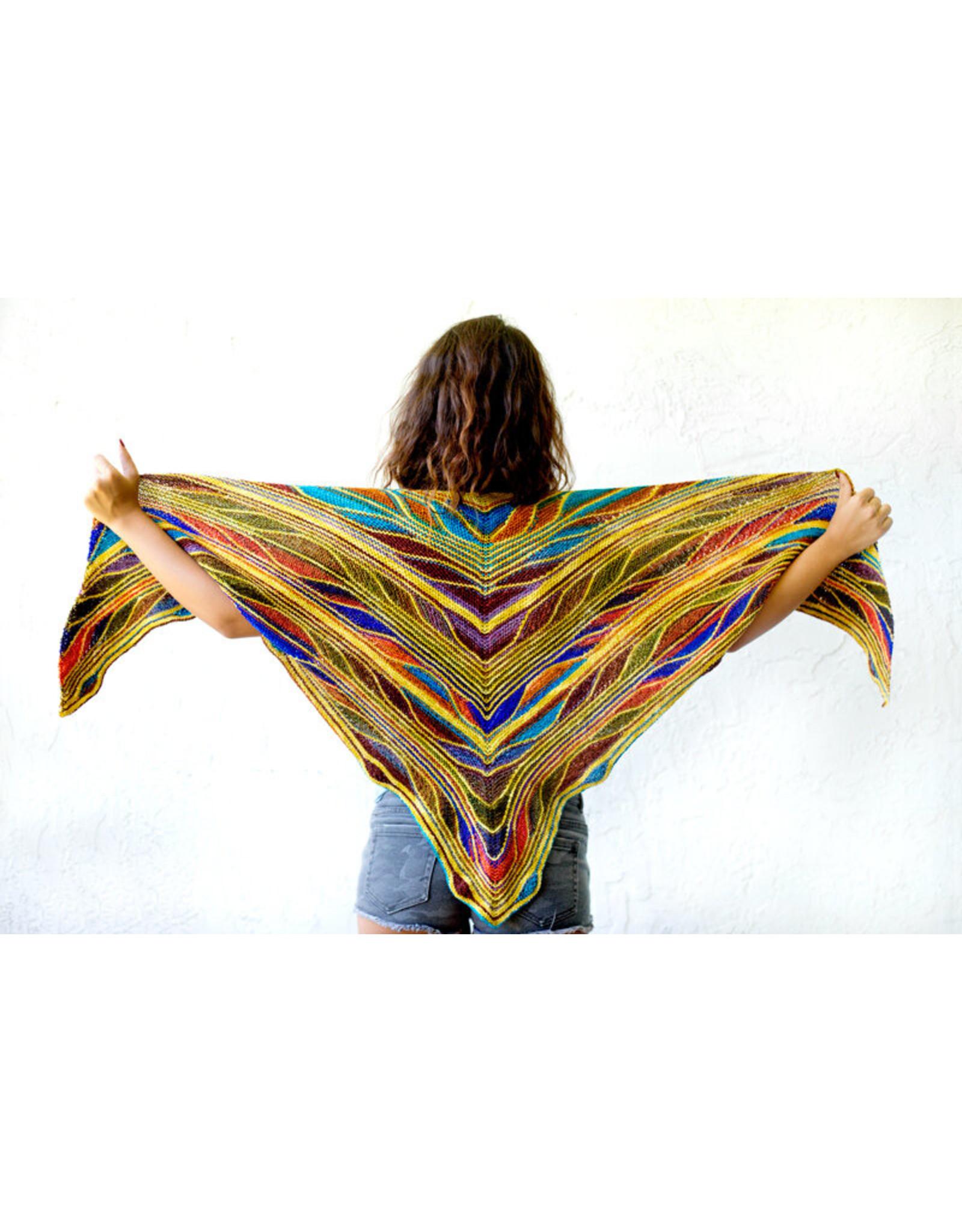 Urth Yarns Dropship Kits Urth Dropship Kit Butterfly Shawl