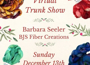 BJS Fiber Creations 2020 Trunk Show