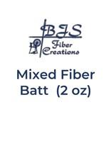 BJS Trunk Show Mixed Fiber Batts (2 oz) BATT #24