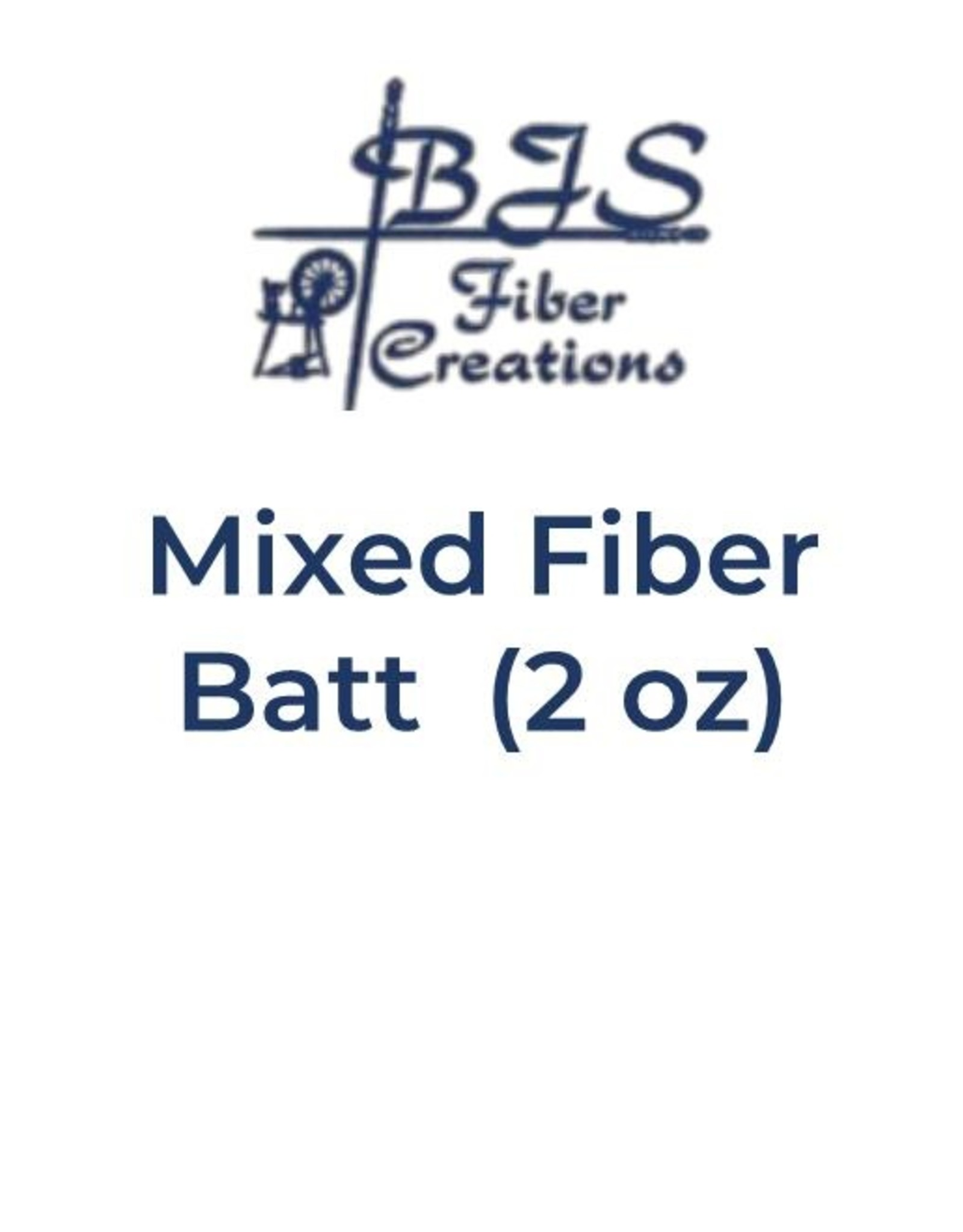 BJS Trunk Show Mixed Fiber Batts (2 oz) BATT #14