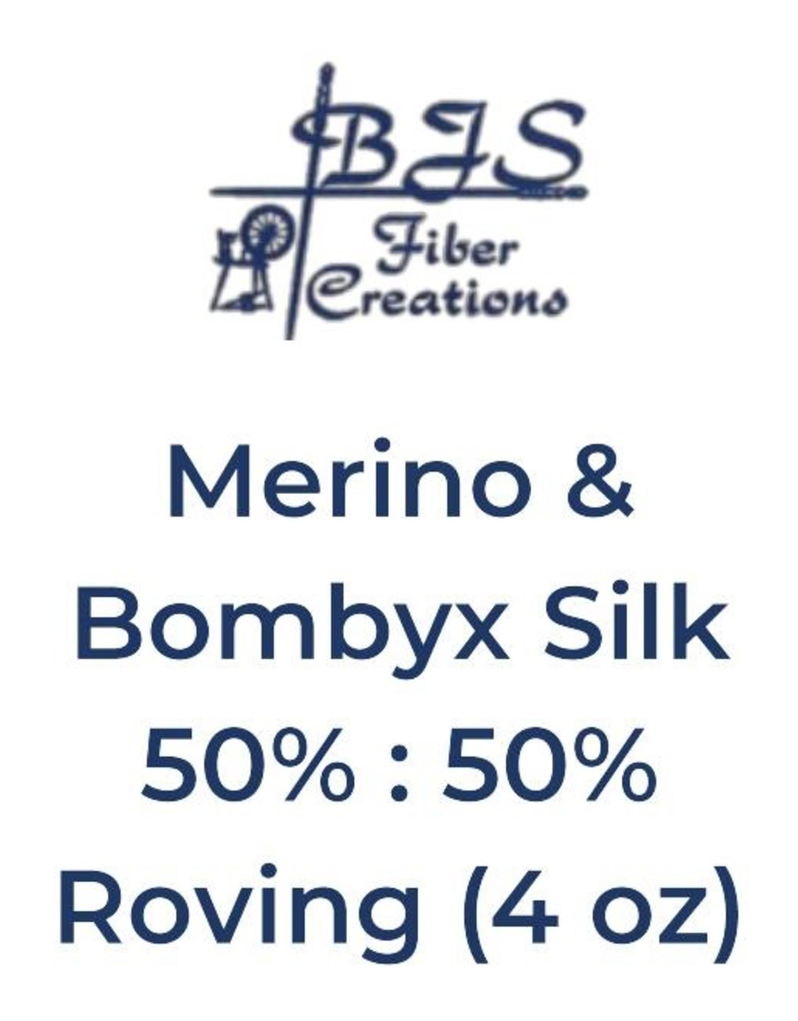 BJS Trunk Show Merino & Bombyx Silk (4 oz) BRAID #12