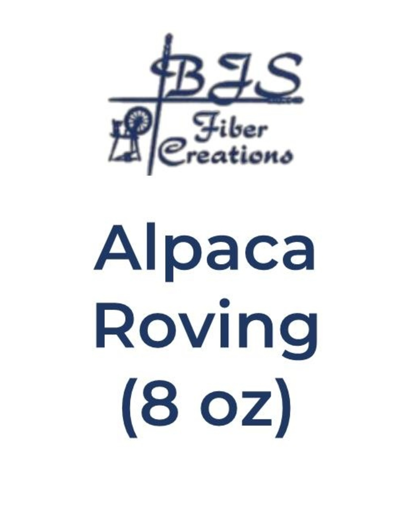 BJS Trunk Show Alpaca Roving (8 oz) Rust