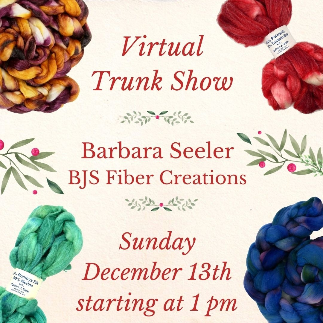 Virtual Trunk Show - Sunday Dec 13th