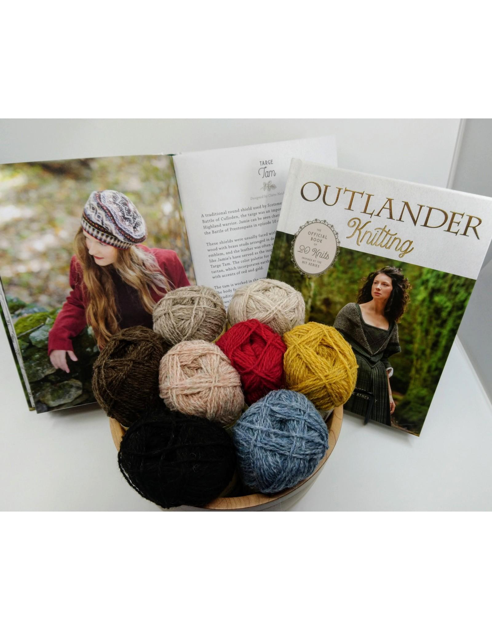 Outlander Outlander Knitting Book & Targe Tam Kit BUNDLE