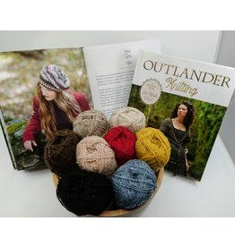 Outlander Outlander Knitting Book & Targe Tam Kit BUNDLE