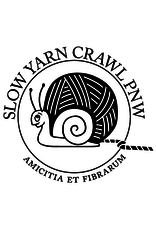 Slow Yarn Crawl Slow Yarn Crawl 2021 - Stranded Shop Sticker