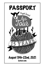 Puget Sound LYS Tour 2021 LYS Tour - Passport Printed