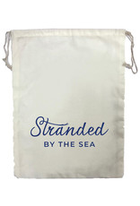Stranded by the Sea Stranded Drawstring Small Project Bag