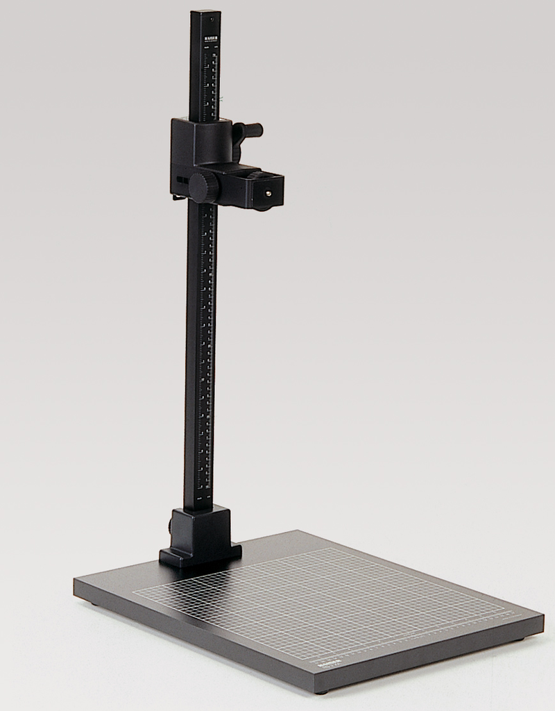 "Kaiser Kaiser Copy Stand RS 2 XA, camera holder horizontal adjustable, column height approx. 76 cm (29,9""), base board approx. 40 x 50 cm (15,7 x 19,7"")"