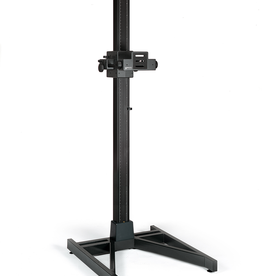 Kaiser Kaiser RSP Xtra Copy Stand, camera carrier with motorized height adjustment. 100 - 120 V / 60 Hz, US-Plug. Canadian Edition with ESA/CSA compliant power supply meeting the Canadian workplace safety standards. ESA sticker included. Total height: 227 cm (89