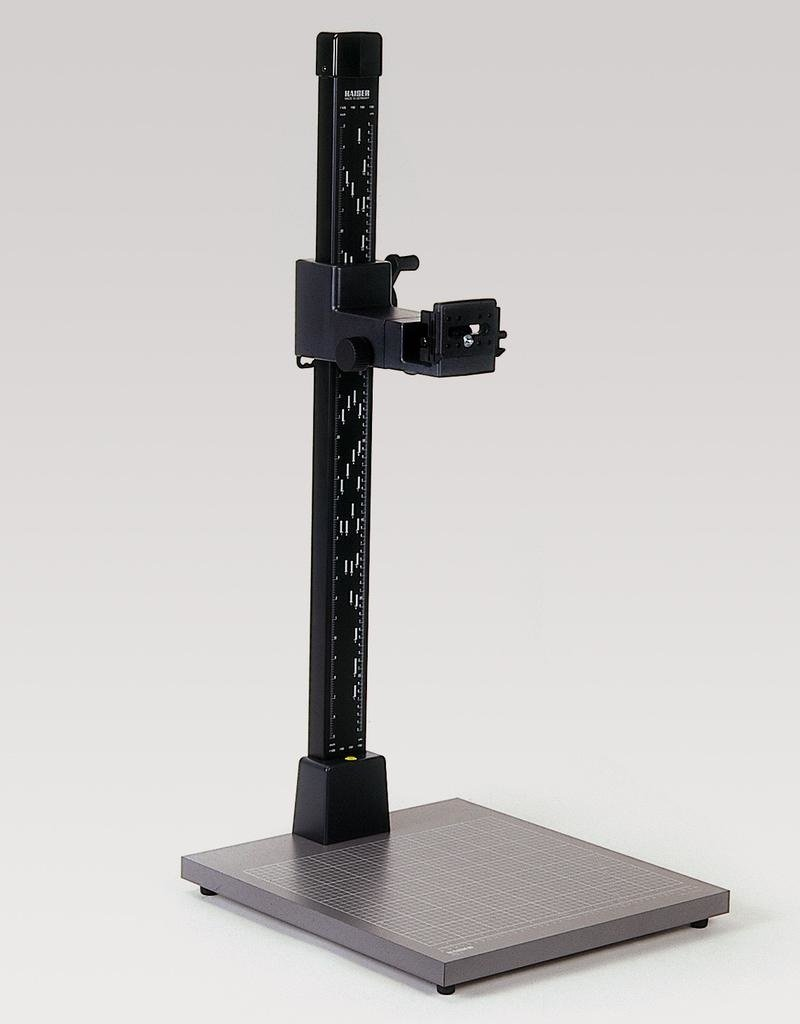 "Kaiser Kaiser Copy Stand RS1, with camera arm RA1 (#5520) column height 1 m (3 feet 3""), baseboard 45 x 50 cm (17,7 x 19,7"")"
