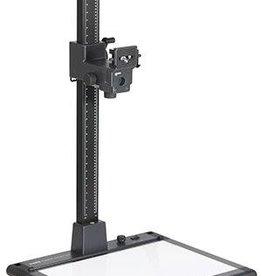 Kaiser Kaiser Copylizer exe.cutive LED, column 100 cm (39.4 in.), camera arm RTP and illumina base plate, area 50.6 x 36 cm (19.9x14.2 in), with 270 SMD LEDs, 5600 K, CRI=95, dimmable. 100 - 120 V / 60 Hz, US-Plug