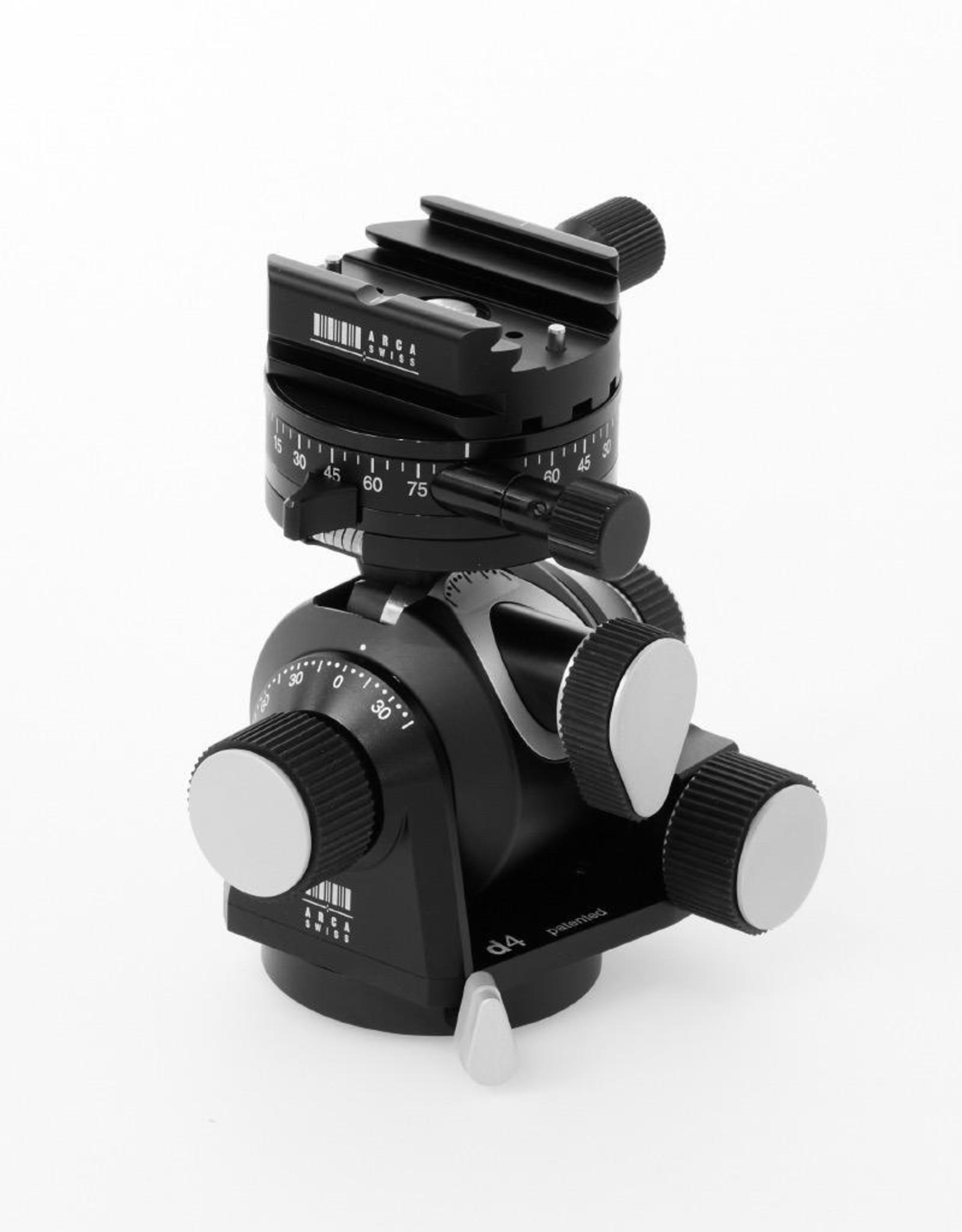 Arca Swiss ARCA-SWISS D4 (geared) gp (geared panning), quick set device Classic