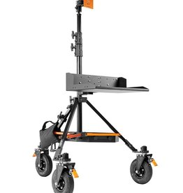 Inovativ Inovativ AXIS DIGI STATION includes the AXIS Stand + Wheel System, Digi Platform, Pro Monitor Mount, Trough and Weight Hanger + 25lb Weight Bag.