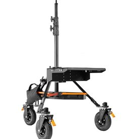 Inovativ Inovativ AXIS STABILIZER STATION includes the AXIS Stand + Wheel System, Case Platform + Tie Down Anchors, Trough and Weight Hanger + 25lb Weight Bag.