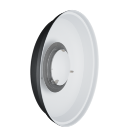 "Hensel Hensel 22 "" ACW Beauty Dish VII white with filter holder and soft disk for EH to fix 7"" honey combs or 22"" honey comb grids compl. with ring"