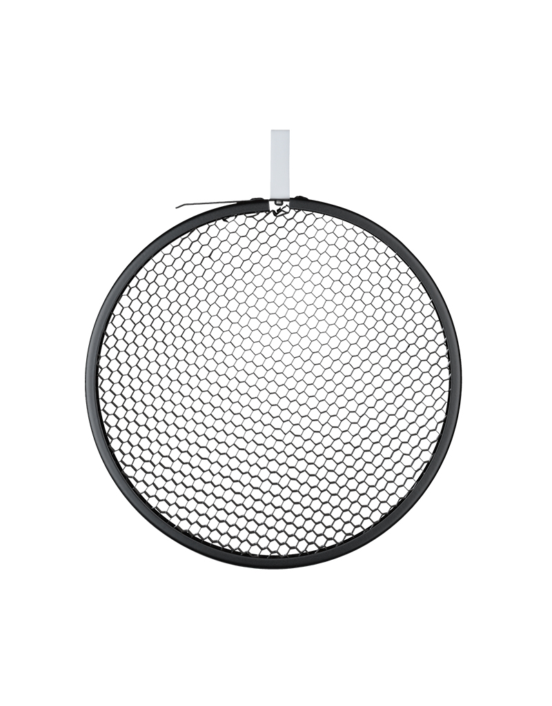 "Hensel Hensel Honeycomb 7"" Grid, round, black, No. 2"