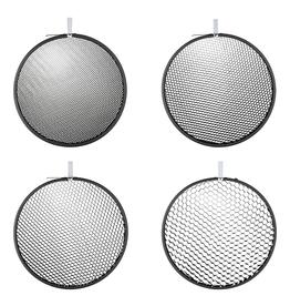"Hensel Hensel Honeycomb 9"" Grid Set 4 pcs."