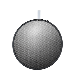 "Hensel Hensel Honeycomb 7"" Grid, round, black, No. 0"