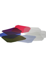 "Hensel Hensel Colour and Diffusion Filter Set, 7"", heat resistant, Set of 6 Colour and 4 Diffusion Filters"