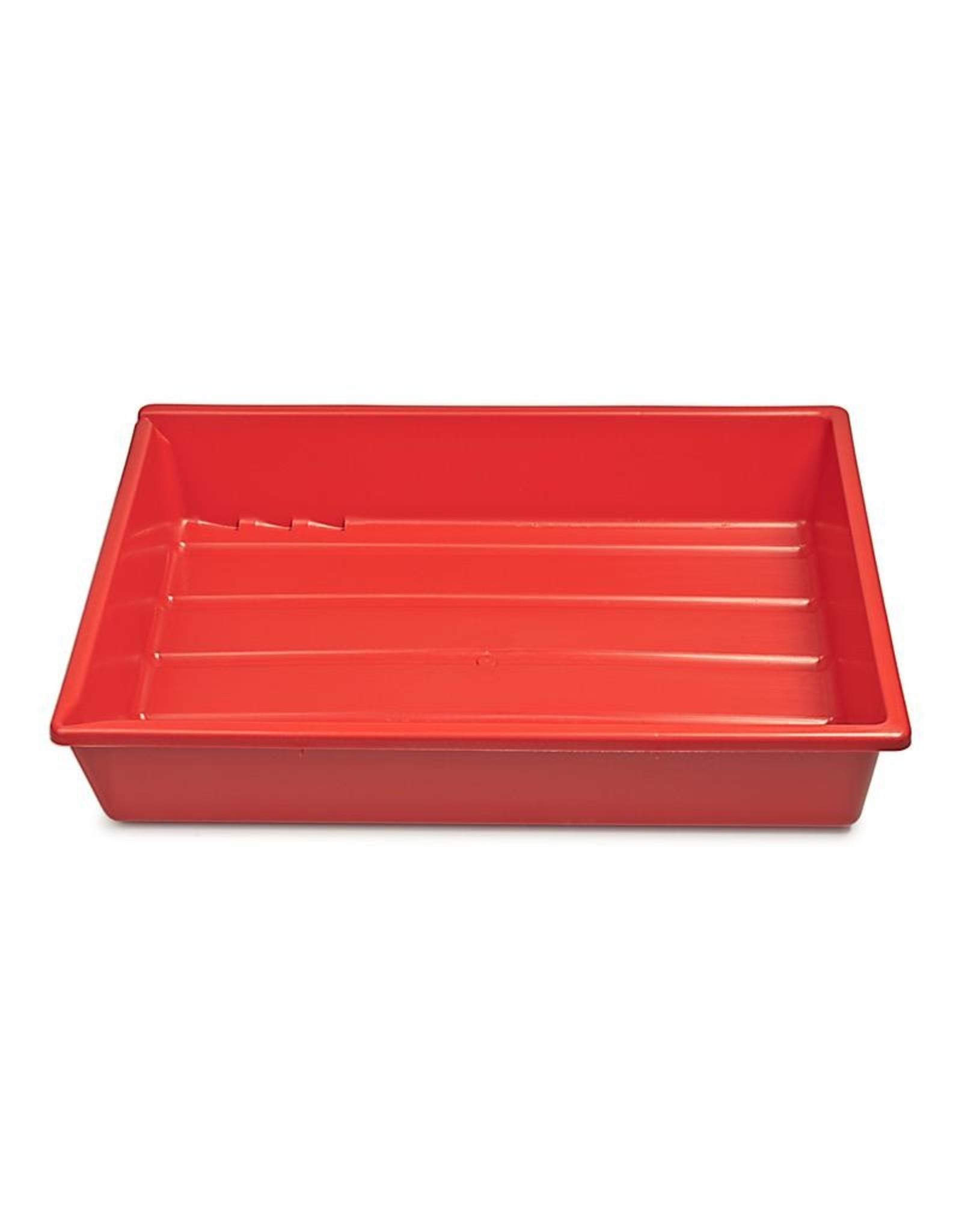 "Kaiser Kaiser Lab Tray, 30 x 40 cm (11,8 x 15,7""), red"
