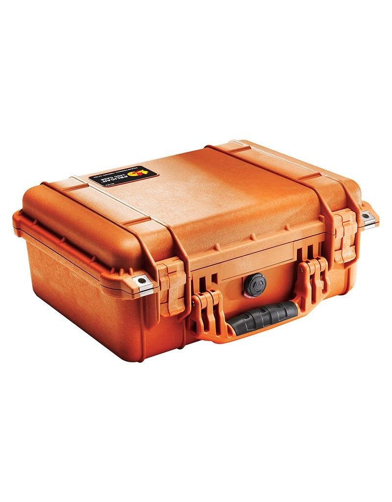 Pelican Pelican 1450 Case, Orange with Foam
