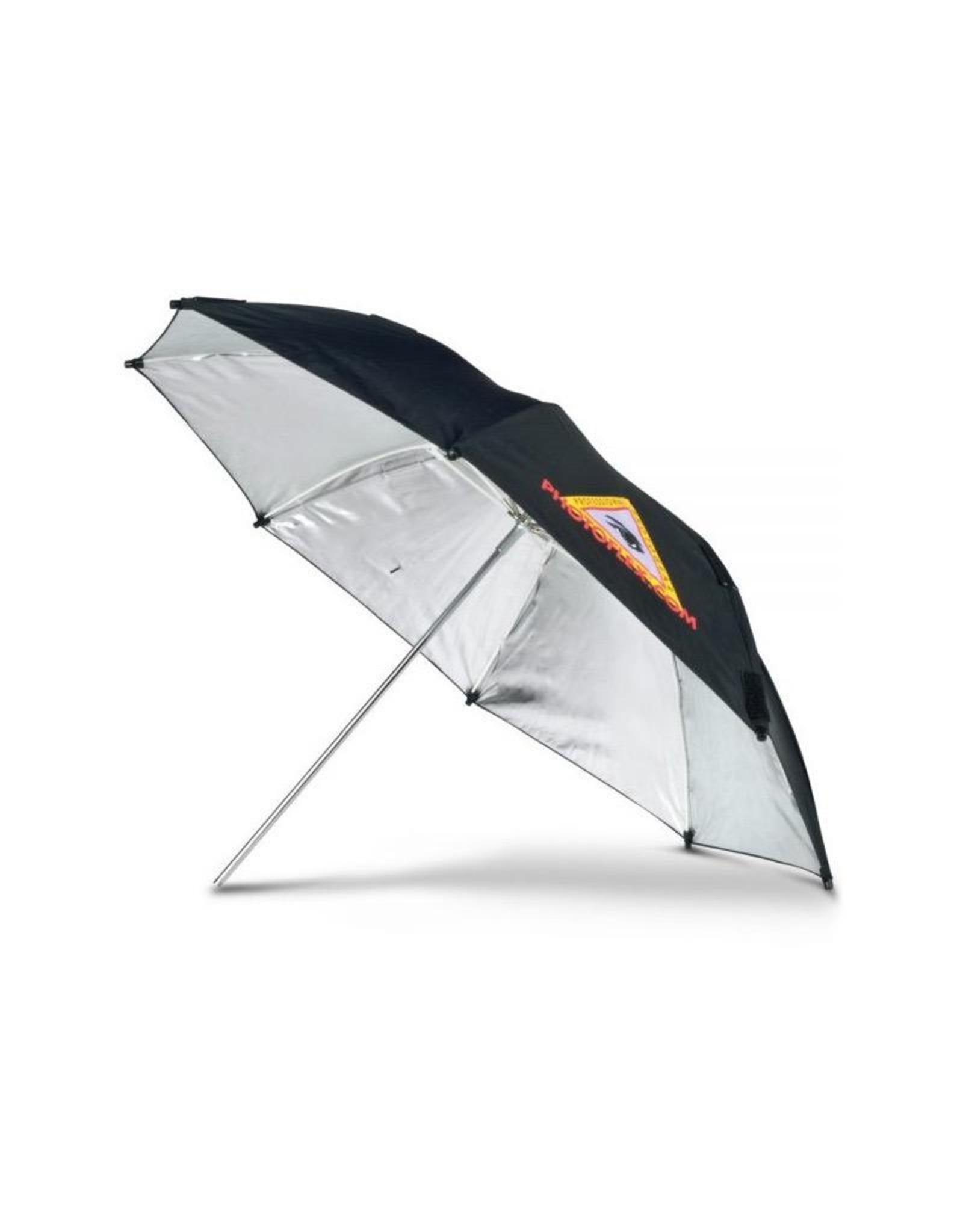 "Photoflex ADH 45"" Silver Adjustable Umbrella"