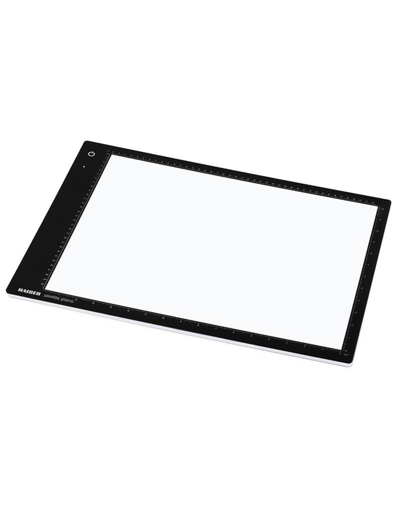 Kaiser Kaiser slimlite plano LED Light Box (Large), 5000 K, dimmable.
