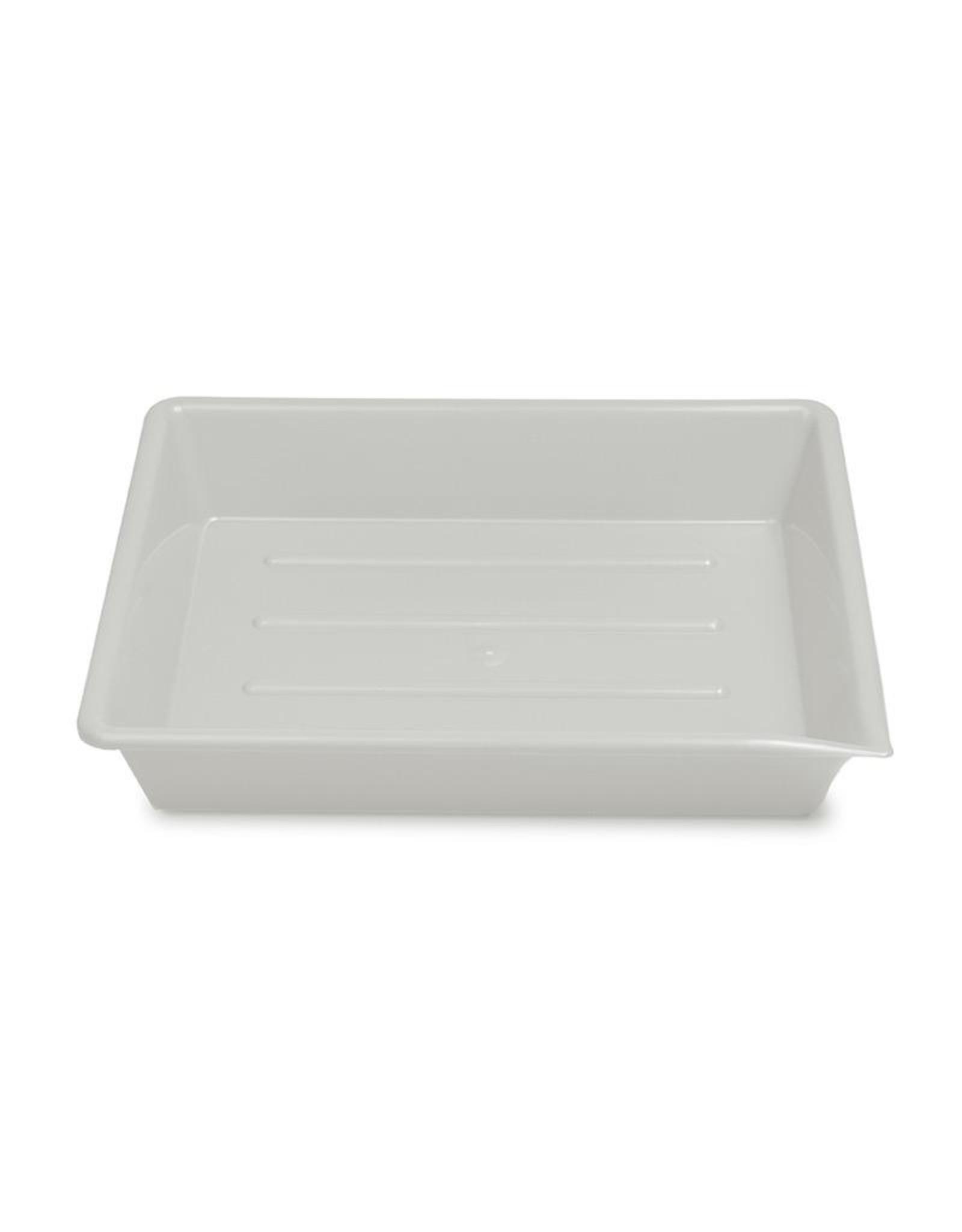"Kaiser Kaiser Lab Tray, 20 x 25 cm (7,9 x 9,8""), white"