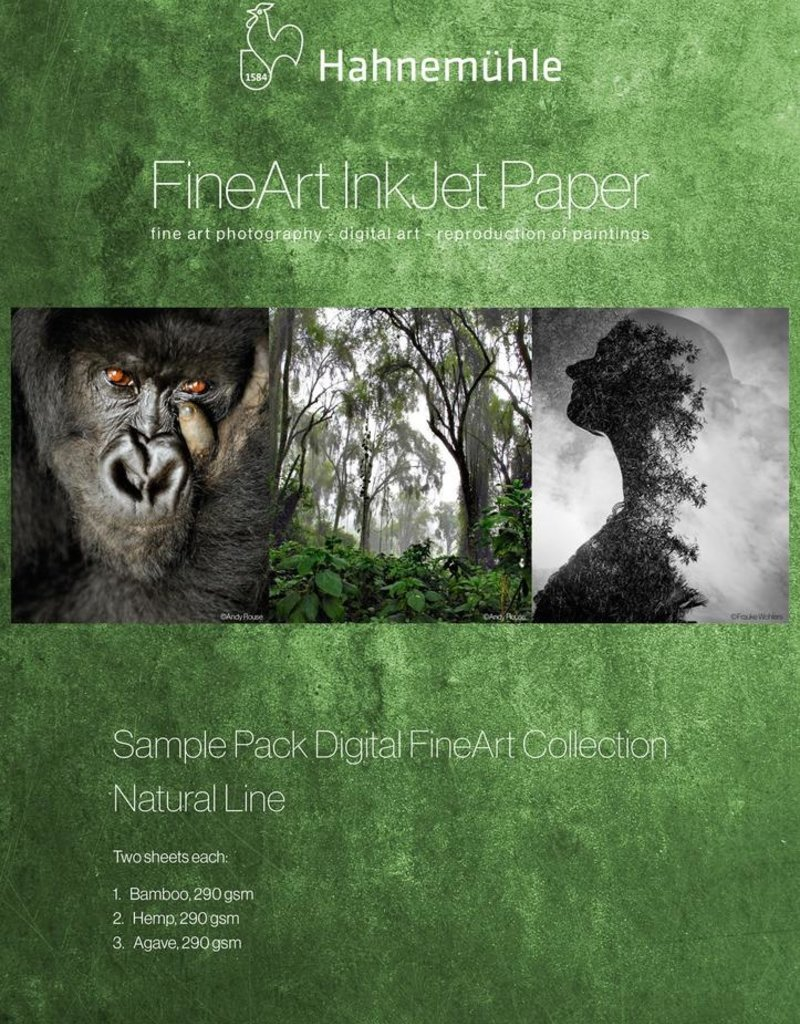 """Hahnemuhle Nature Line SAMPLE Pack 13""""x19"""""""