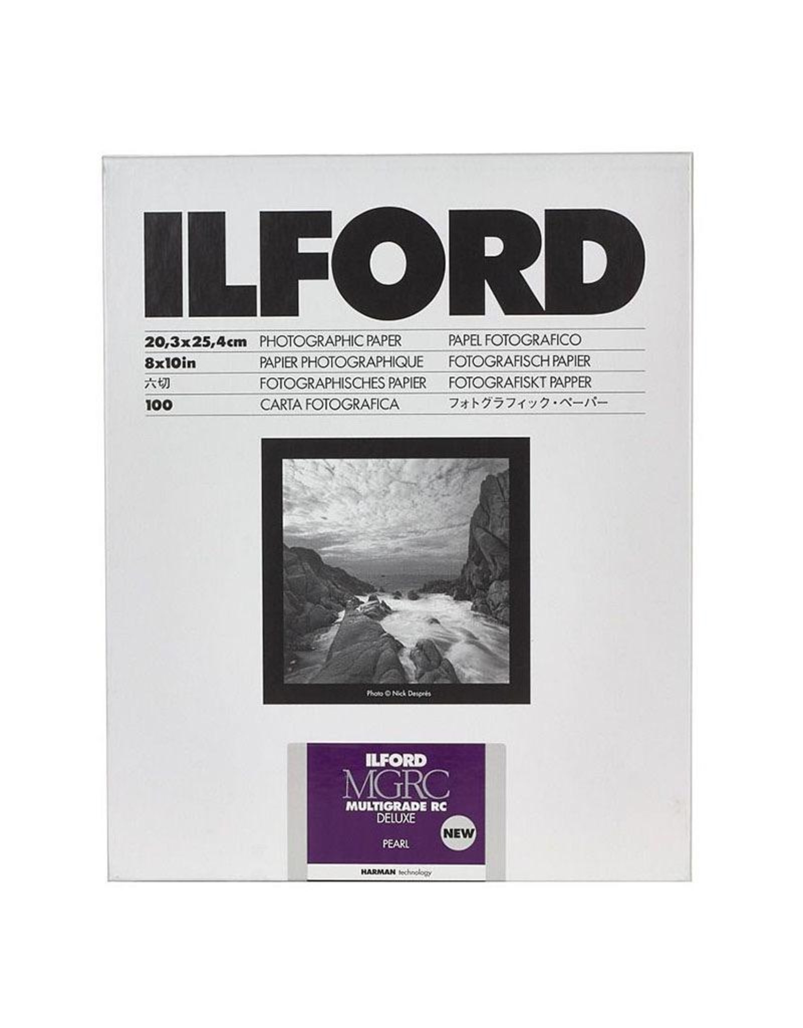 Ilford Ilford MG V RC Pearl 8x10 25 sheets.