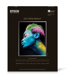 "Epson Epson 44"" x 50' Hot Press Bright Roll"