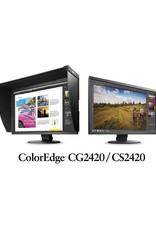 "Eizo Eizo ColorEdge series CS2420-BK-CNX   (Bundle w/EIZO EX Sensor)  Slim Frame Design, 24"" Wide Screen ,Wide Color Gamut TFT IPS LCD Monitor"