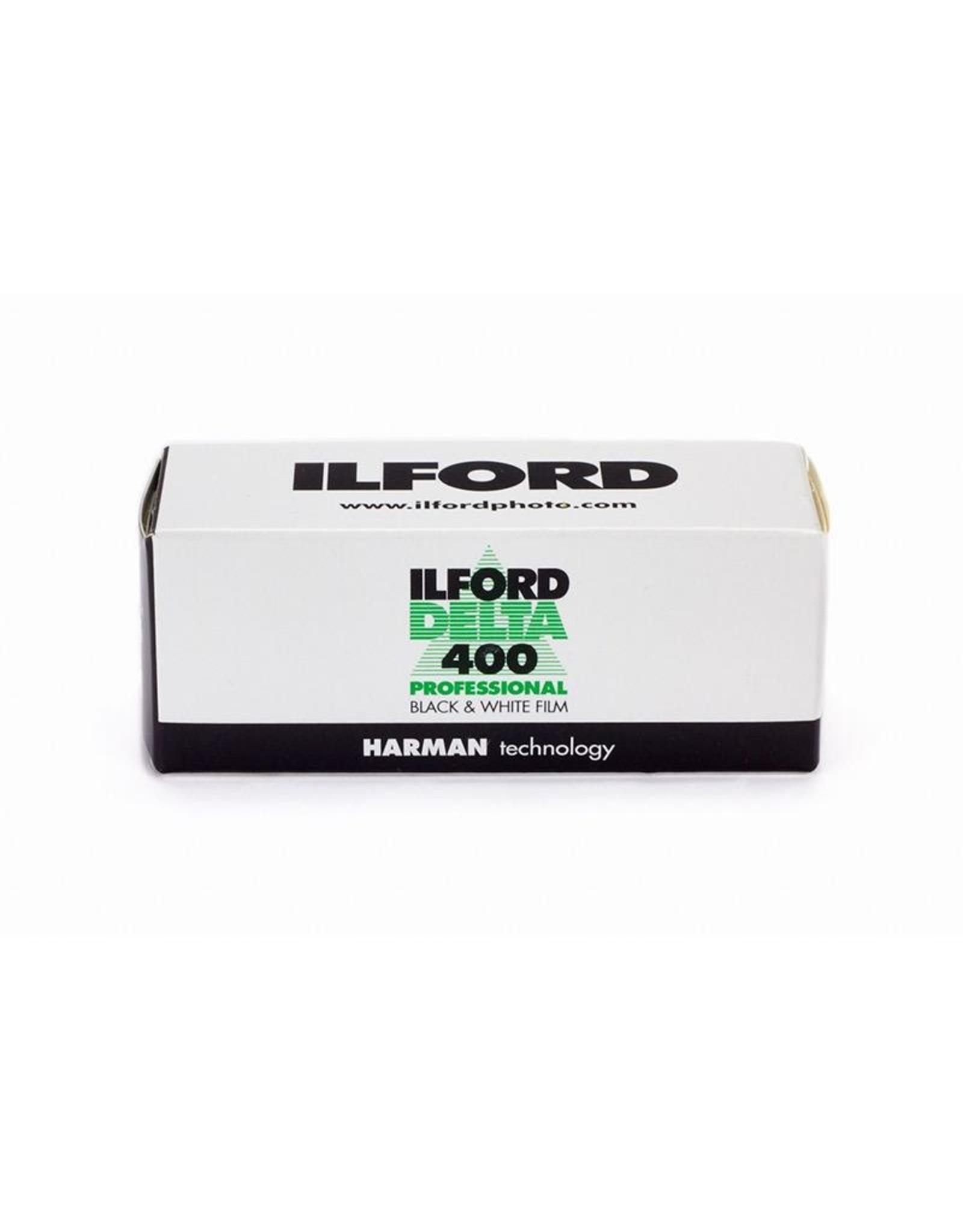 Ilford Ilford Delta DP400 120 Roll ASA 400.