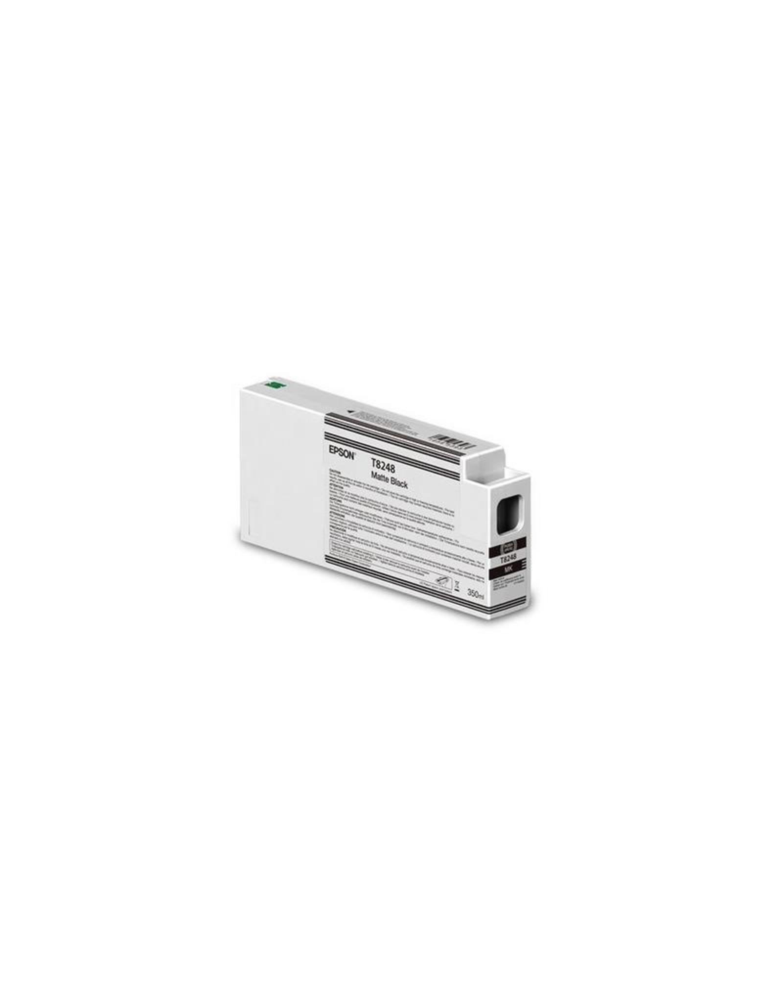Epson Epson T824800 Ultrachrome HD Matte BLK ink 350ML