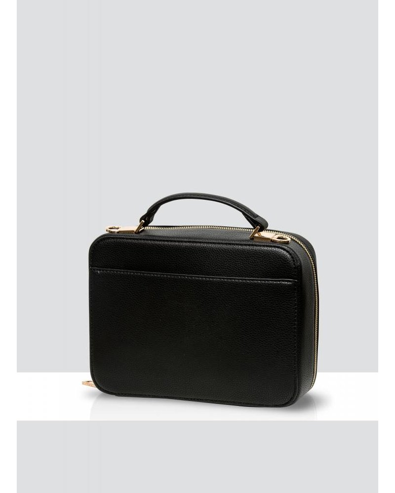 MADISON Isla Top Handle Crossbody Box Bag - Black