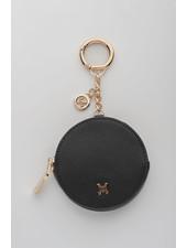 MADISON Lottie Circle Coin Case Clip on - Black