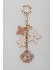 MADISON Rose Flower Charm Clip On - Blush/Rose Gold