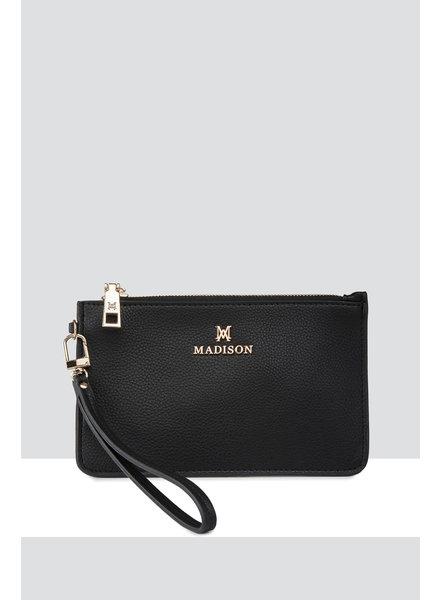 MADISON Kerryn Zip Purse Clip On Accessory - Black