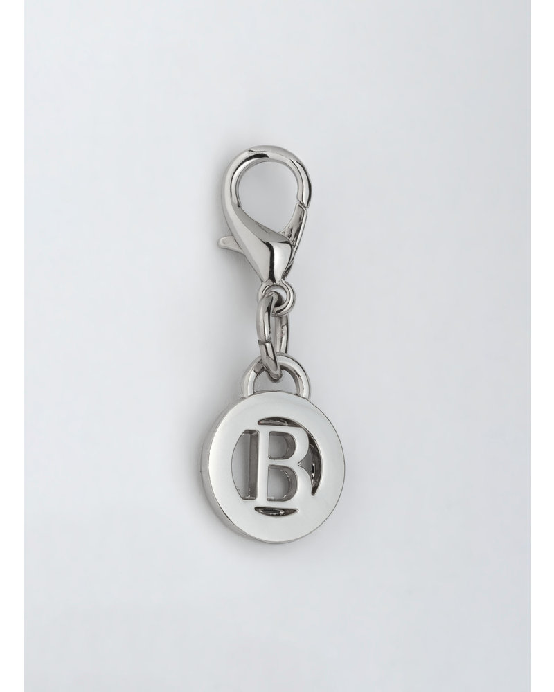 MADISON Letter Charm B - Silver