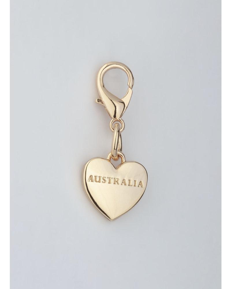 MADISON AUSTRALIA CHARM - LIGHT GOLD