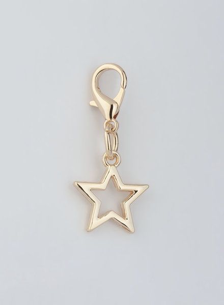 MADISON Star Charm - Lt Gold