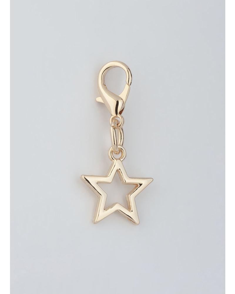MADISON STAR CHARM - LIGHT GOLD