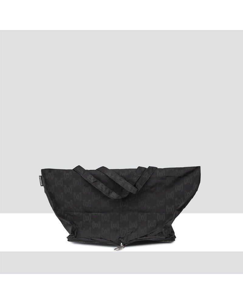 MADISON Hideaway Large Shopping Tote Clip on - Black MA