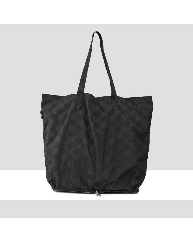 MADISON HIDEAWAY LARGE HIDEAWAY SHOPPING TOTE CLIP ON - BLACK MA Print