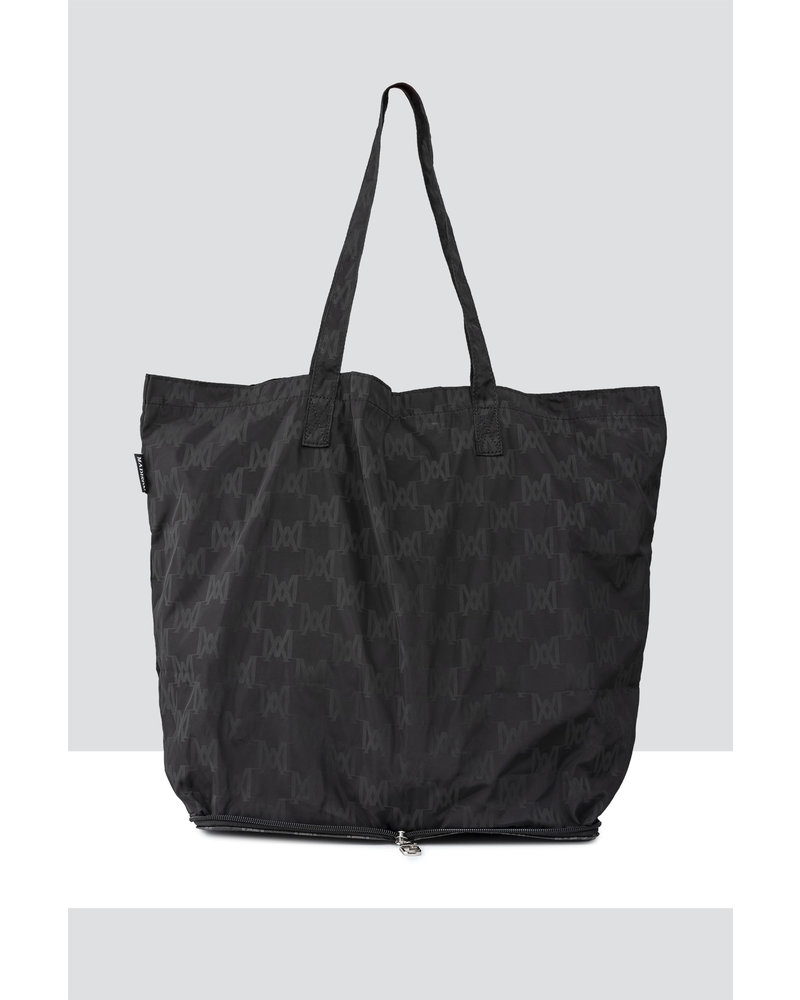 MADISON HIDEAWAY LARGE HIDEAWAY SHOPPING TOTE CLIP ON - CHOCOLATE MA Print