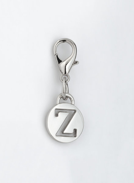 MADISON LETTER CHARM Z - SILVER