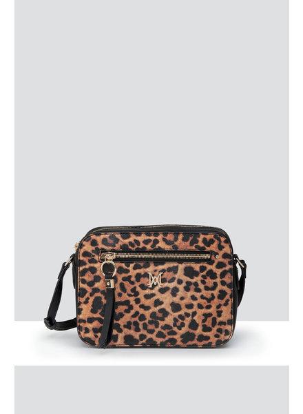 MADISON Molly Camera Bag - Leopard/Black