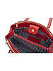 MADISON Alice Double Zip Tote - Red