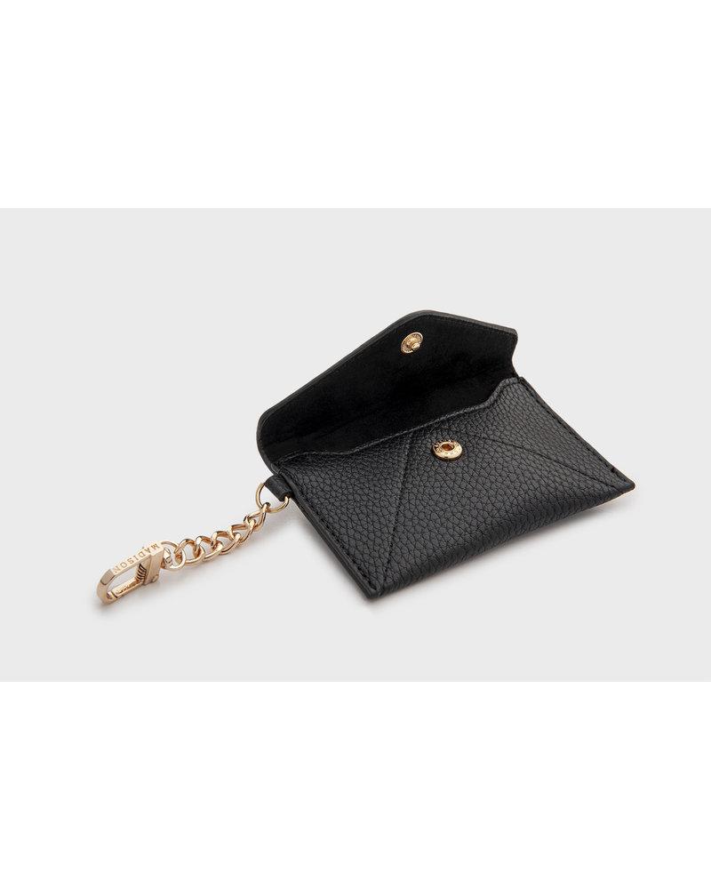 MADISON Amber Envelope Card Case Clip on - Black